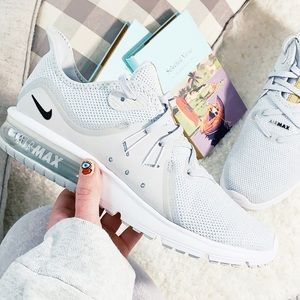 Nike Air Max Sequent 3 Pure Platinum Running Shoes